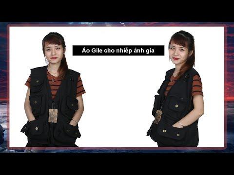 Áo Khoác Gile Cho Nhiếp ảnh Gia, Thợ Sửa Chữa