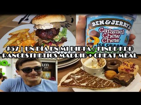 #57 | UN DÍA EN MI DIETA / FINDE KDD PANCESTHETICS MADRID + CHEAT MEAL