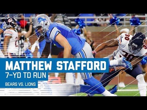 Matthew Stafford Runs In the Go-Ahead TD! | Bears vs. Lions | NFL Week 14 Highlights