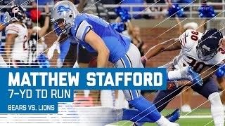 Matthew Stafford Runs In the Go-Ahead TD! | Bears vs. Lions | NFL Week 14 Highlights