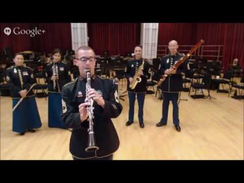 Hangout Session--United States Army Field Band: Clarinet