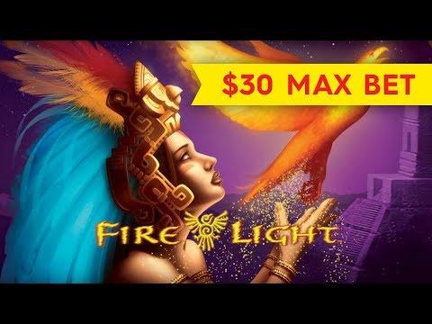 Wonder 4 Fire Light Slot - BETTER THAN JACKPOT - $30 Max Bet!