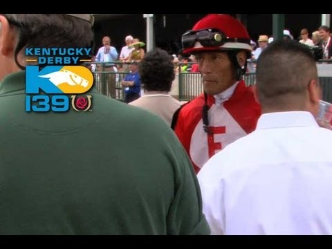 Kentucky Derby 139 - Jockeys Weighing Out