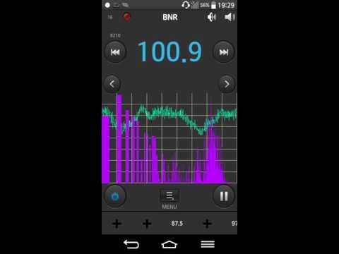 Quick FM Bandscan on the Danube Bridge