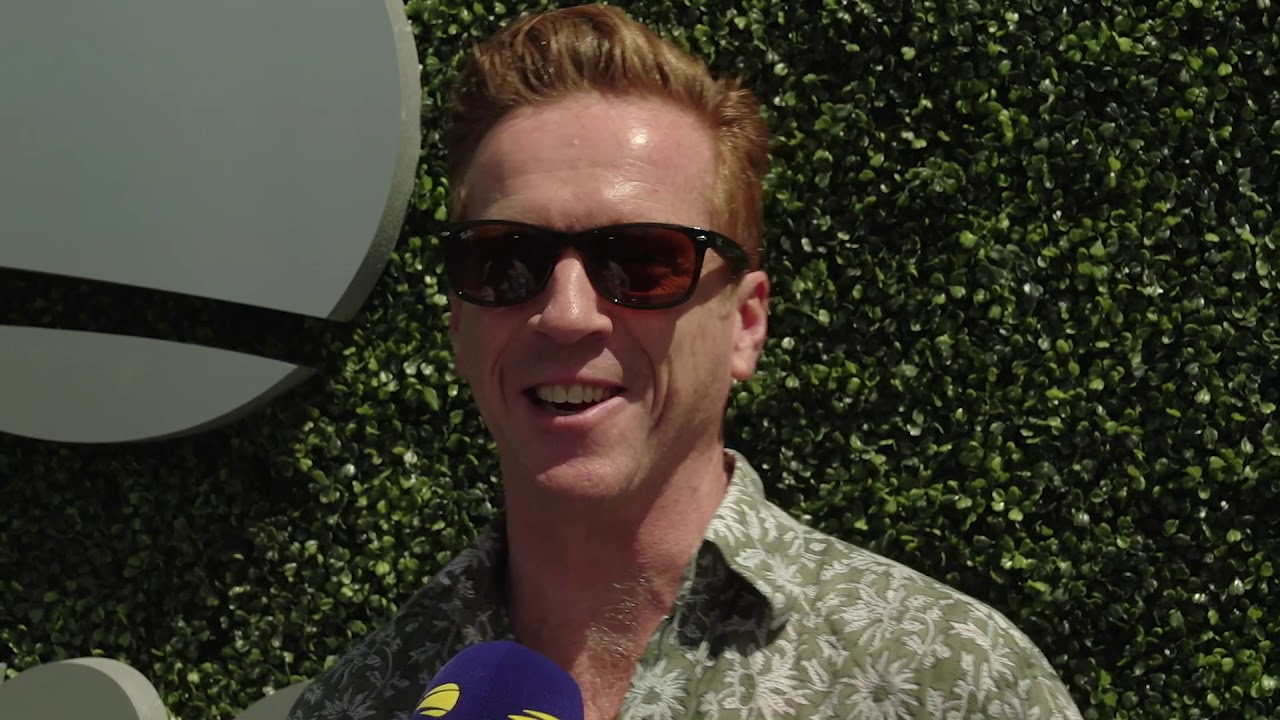 2018 US Open Blue Carpet Bites with Actor Damian Lewis