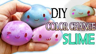 AMAZING DIY SLIME COLOR CHANGING SLIME MONSTERS How to make cute craft diy