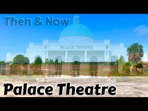 Palace Theatre Then & Now - Myrtle Beach   Roadside