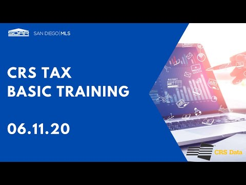 2020 Paragon: MLS Transaction Tool - CRS Tax Recorded On 6-11-20 By Kevin Burke