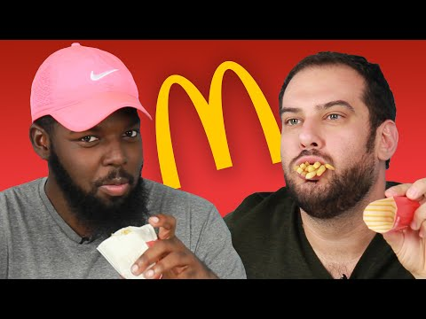 We Try Happy Meals For The First Time