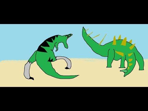 BRS3 Kentrosaurus Vs Nanotyrannus
