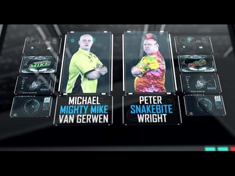 2017 Premier League 720p - Week 11 - Match 2: Michael van Gerwen vs Peter Wright