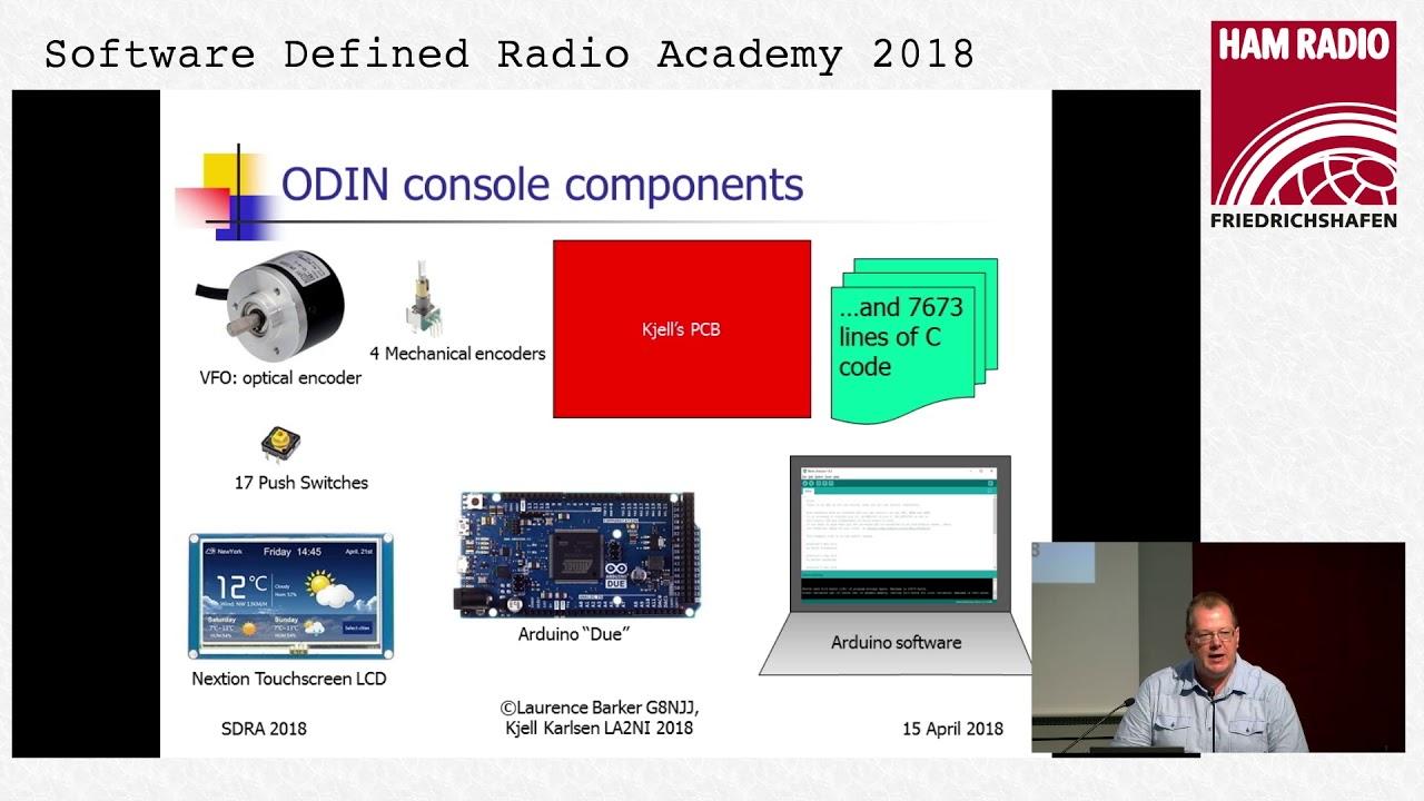 G8NJJ, LA2NI: A control console for PC Based SDR