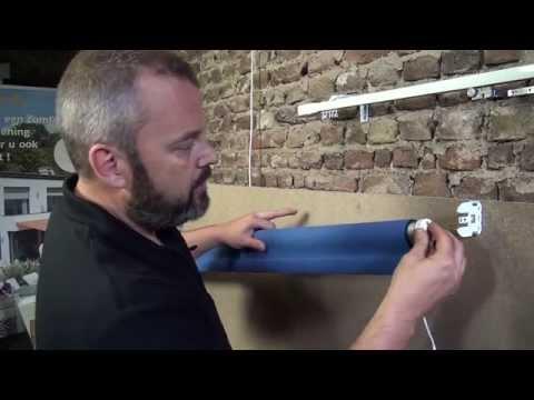 Favoriete Deel 4 - Hoe maak je een elektrisch rolgordijn - doekmontage op as JZ91
