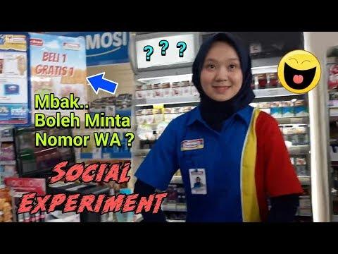Social Experiment Di Indomaret, Yes Berhasil..Hehe