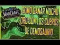 Como Ganar MUCHO ORO con los Cueros de Demosaurio | World of Warcraft