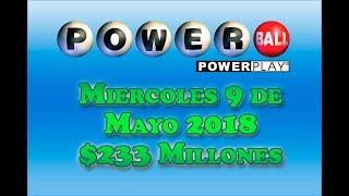 Gambar cover Resultados Powerball 9 Mayo 2018 $233 Millones Powerball en Español