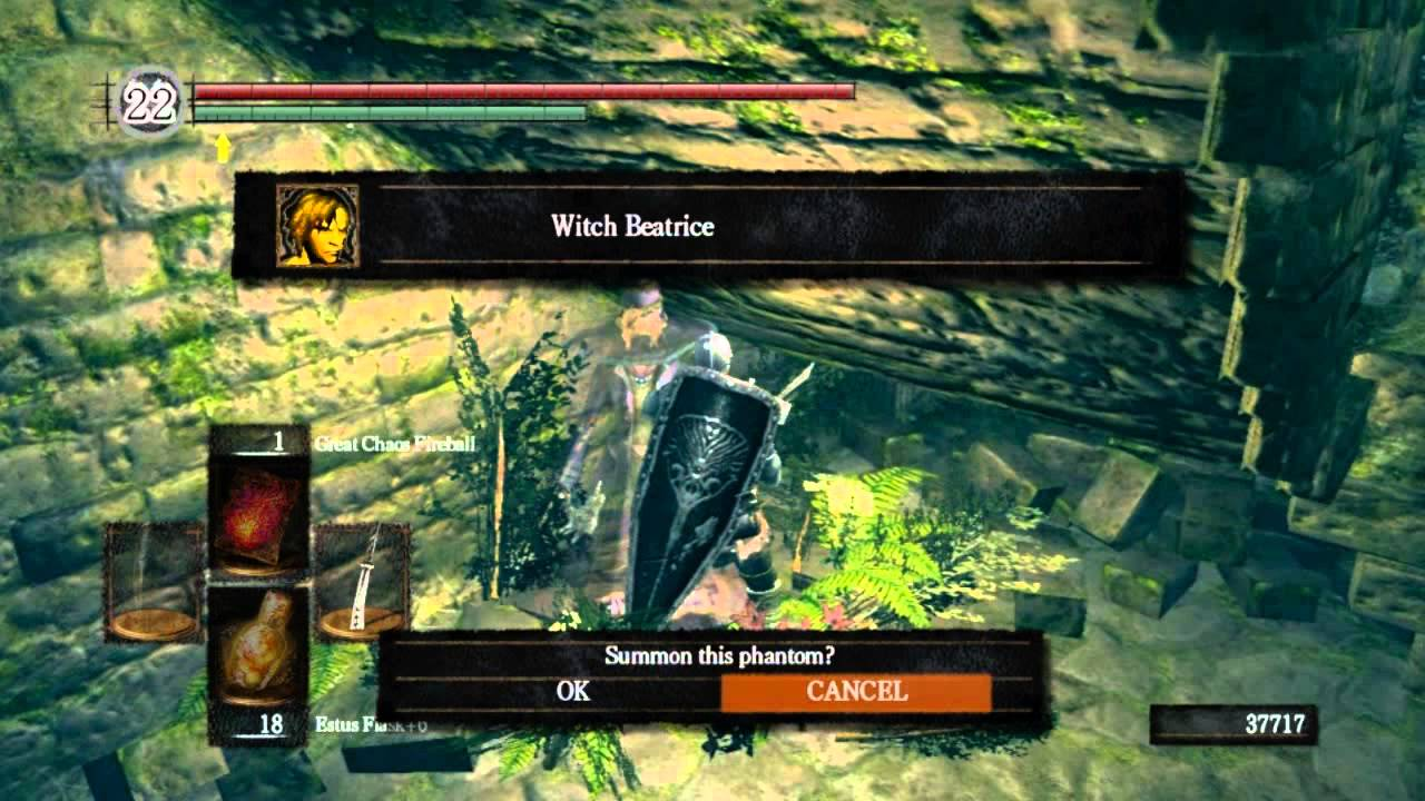 Dark Souls PvE - Partizan, Moonlight butterfly, Watchman tower key and  Divine Ember