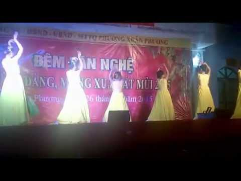 Múa Lung Linh Mai Vàng của các cô giáo trường mầm non Xuân Phương Mừng đảng mừng xuân