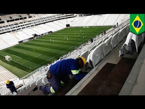 Brazil World Cup 2014: Eighth worker dies in electrical accident