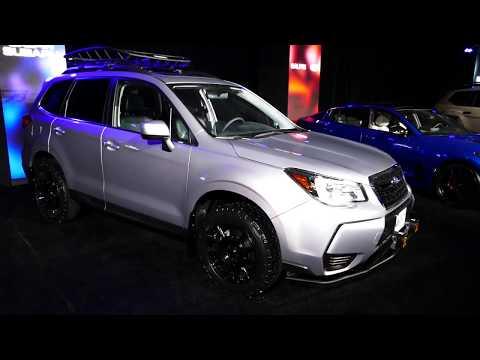 New 2018 Subaru Forester - Galpin Auto Sports Custom SUV - 2017 LA Auto Show