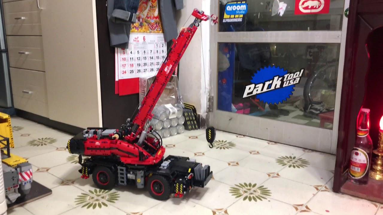 42082 - Rough Terrain Crane - MODs and improvements - LEGO