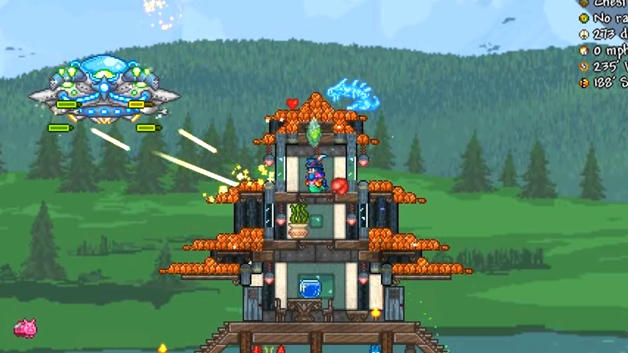 Terraria Auto Build House
