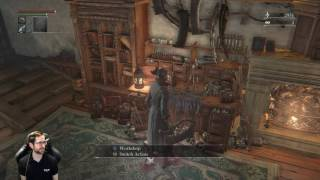 bloodborne bl4 all bosses w chalice dungeons pt 11