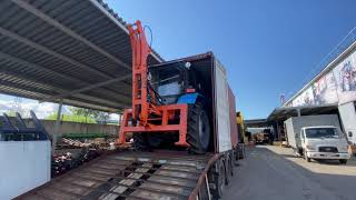 Мини экскаватор на трактор МТЗ-82.1 Отгрузка на Сахалин