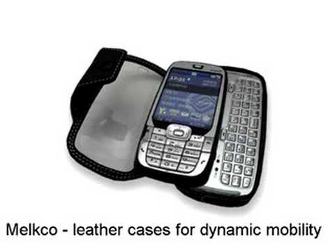 Melkco Tasche Leder Etui cuir ~ HTC S710/HTC Vox/Dopod C500/Orange SPV E650/Vodafone v1415/Vodafone VDA V Book Type (Black) Special Edition