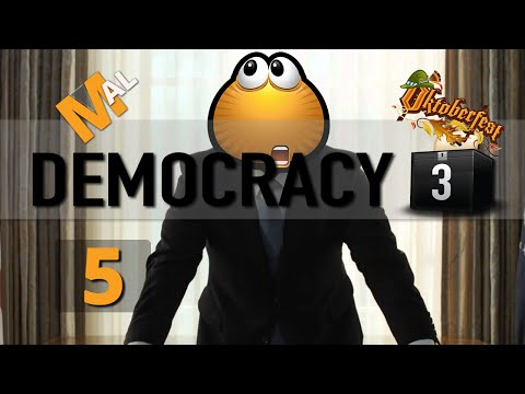 Democracy 3 Let's Play - Part 5 - German Utopia! [Series Complete]