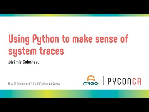 Image from Using Python to make sense of system traces