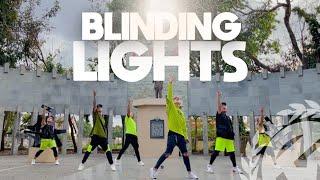 Download lagu BLINDING LIGHTS by The Weeknd | Zumba | Pop | TML Crew Kramer Pastrana