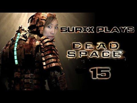 DEATH BY SLENDER MAN - Surix Plays - Dead Space Part 15 (Twitch VOD)