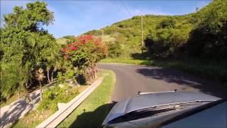La Vallee to Salt River via North Shore Road, St Croix
