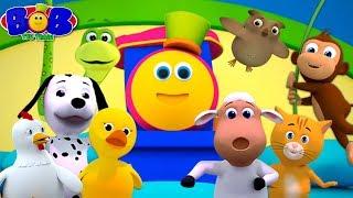 Ten In The Bed   Bob The Train   Nursery Rhymes & Children Songs