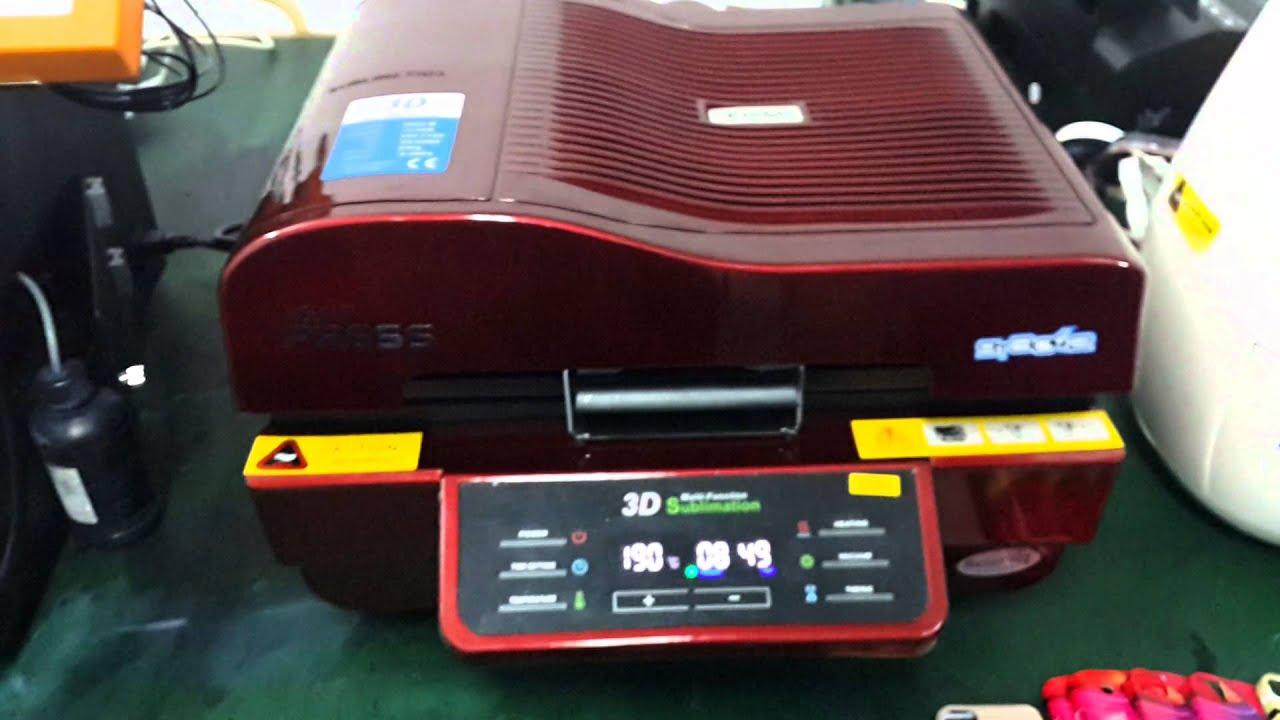 3D sublimation machine making custom phone case Best solution for