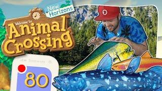 🔴 QUASTENFLOSSER, GOLDMAKRELE & GOLDFORELLE | Live-Besuch 🏝️ ANIMAL CROSSING: NEW HORIZONS #80