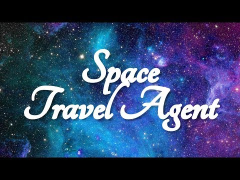 ASMR Space Travel Agent Role Play (Around the Solar System)  ☀365 Days of ASMR☀