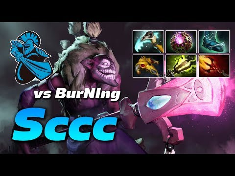 Sccc Dazzle Amazing Battle vs BurNIng Naga Siren | Dota 2 Pro Gameplay