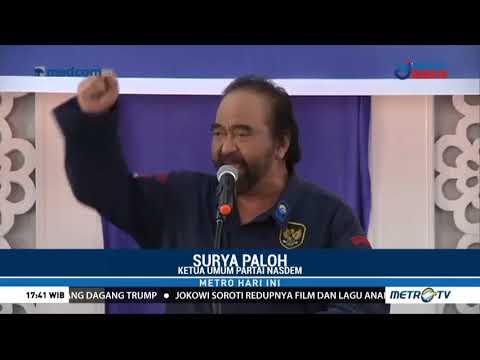 Surya Paloh Tegaskan NasDem Partai Nasionalis Religius