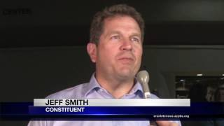 Rep. Andy Biggs hosts contentious town hall in Mesa | Cronkite News