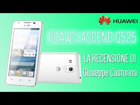 Huawei Ascend G525 la recensione di GCReviews