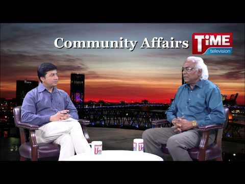 Abidur Rahim with Ataur Rahman in Time TV Community Affairs