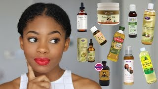 ❃CWK❃  EPI. 6 | MUST KNOW Oils for Natural Hair (Pt.1 Carrier Oils)