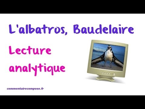 Lalbatros Baudelaire Commentaire Youtube