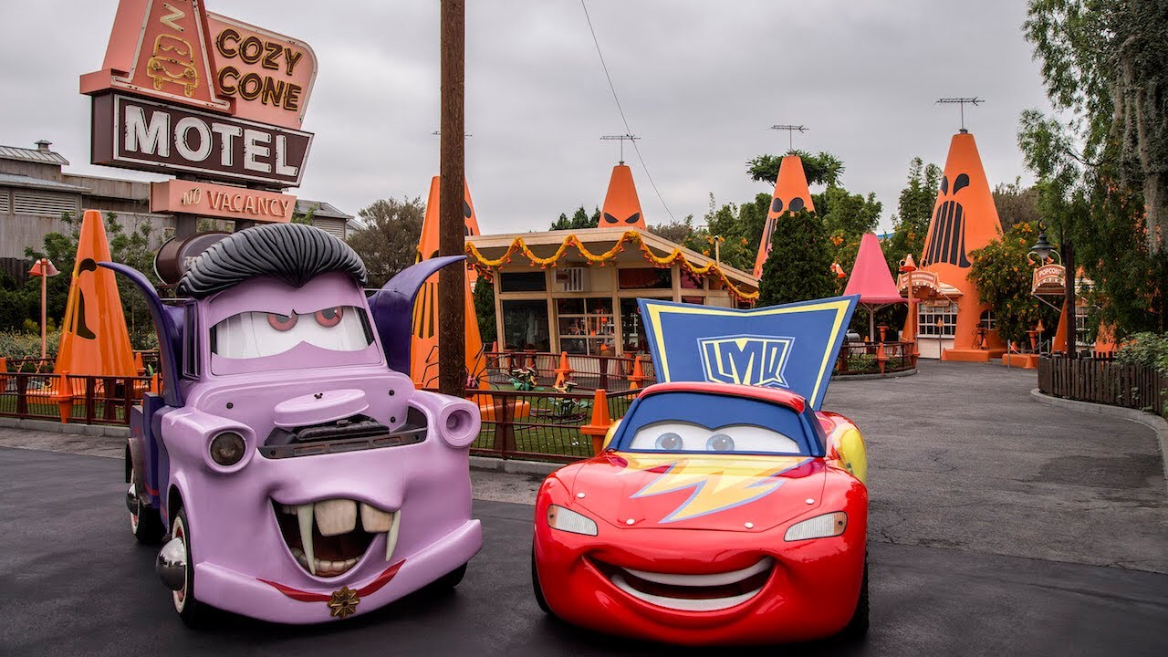 new cars land halloween decorations 2017