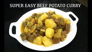 Easy Beef Curry - Beef & Potato Curry - Indian Beef Curry - Yummy Masala