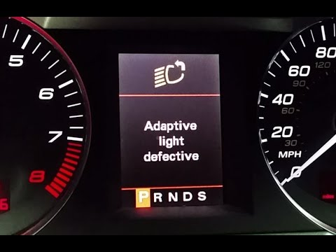 AUDI Adaptive Light Defective, VCDS Error 02629, A4/A6/A8/S4/S6/S8