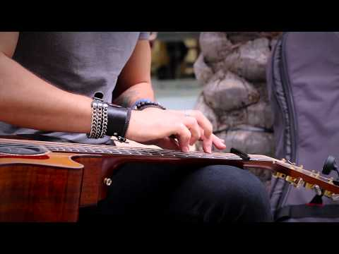 Mystery Guitar Player - Live at NAMM 2014