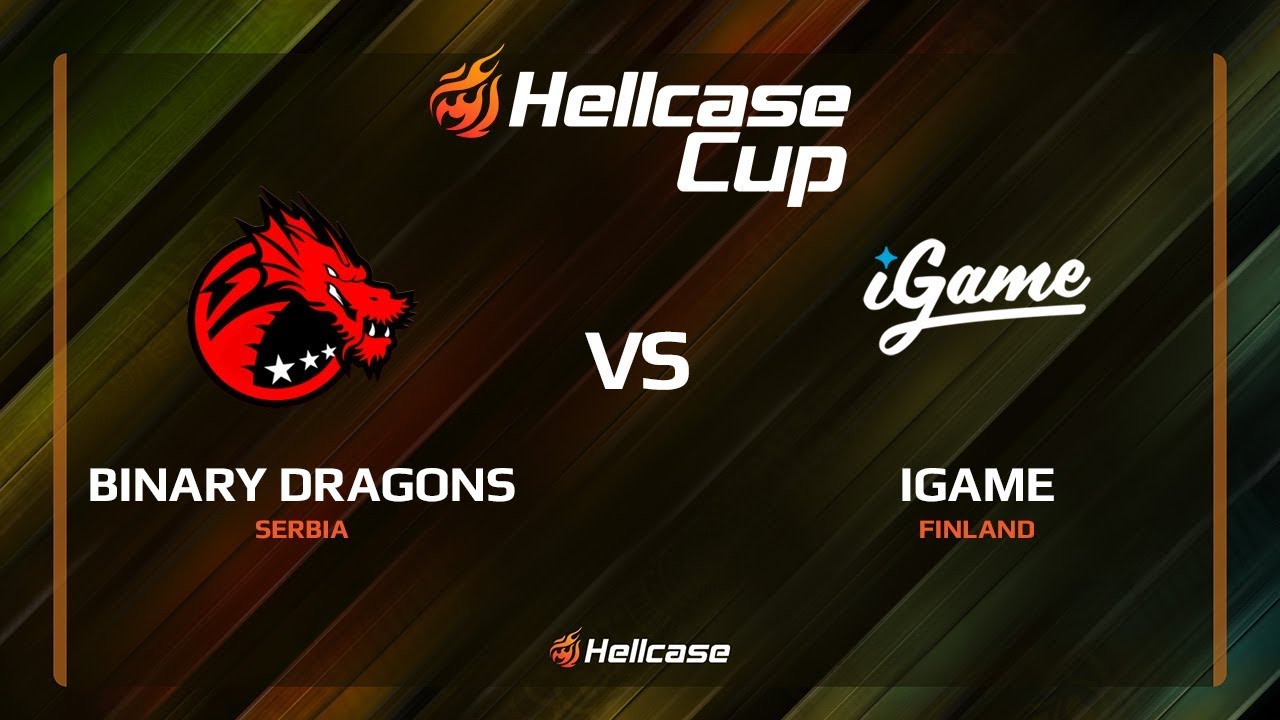 [EN] Binary Dragons vs iGame, mirage, Hellcase Cup 6